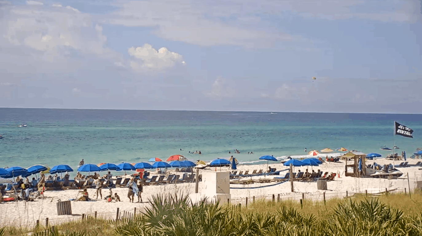 Emerald Beach Panama City Beach Live Web Cam